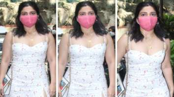 Bhumi Pendekar's thigh-high slit floral midi dress should be on your summer wish list