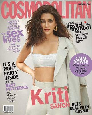 Kriti Sanon On The Cover Of Cosmopolitan, Mar 2021