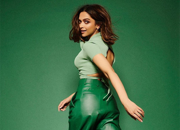 Deepika Padukone makes a statement in pairing crop top with green leather pants and Air Jordans worth over Rs. 1 lakh