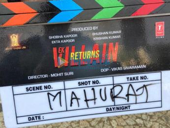 On The Sets Of The Movie Ek Villain Returns