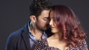Elli AvrRam shares the first look of her dance number with Aamir Khan, the duo sizzles in the still