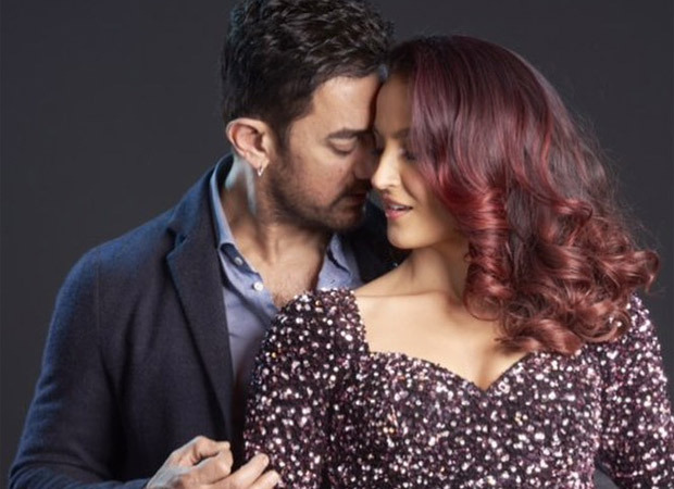 Elli AvrRam shares the first look of her dance number with Aamir Khan, the duo sizzles in the still - Bollywood Hungama