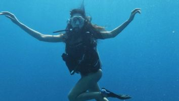 Esha Gupta channels her inner Dory as she goes deep sea diving in the Maldives