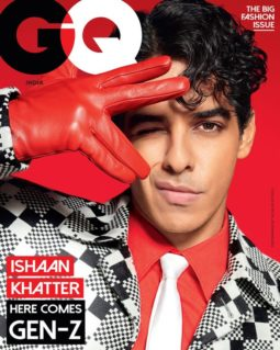 Ishaan Khatter on the cover of GQ India