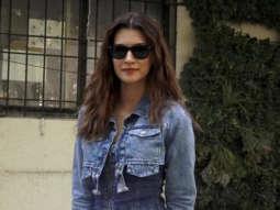 Kriti Sanon spotted at Kroma salon in Juhu