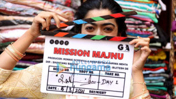 On The Sets Of The Movie Mission Majnu