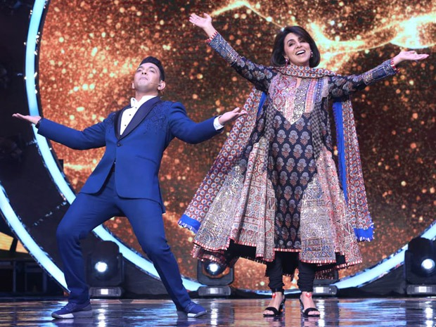 Neetu Kapoor graces the sets of Indian Idol 12 for a special episode dedicated to Rishi Kapoor