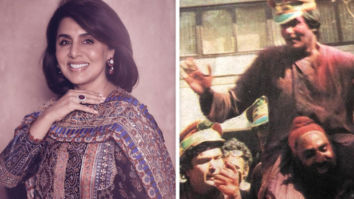 Neetu Kapoor shares an unseen picture of Rishi Kapoor and Amitabh Bachchan playing Holi