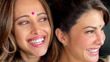 Nushrratt Bharuccha gets a plush Louis Vuitton purse from her Ram Setu co-star Jacqueline Fernandez