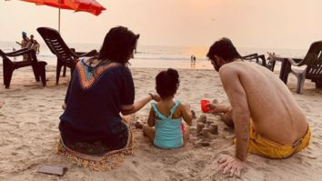 PICTURE PERFECT Barun Sobti poses with wife and daughter at a beach leaving the fans in awe of them
