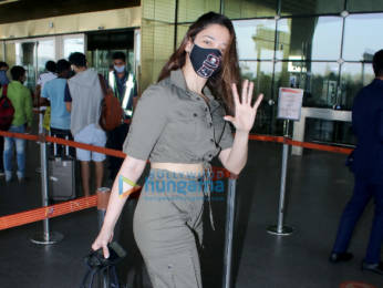 Photos: Amyra Dastur and Tamanna Bhatia snapped at the airport