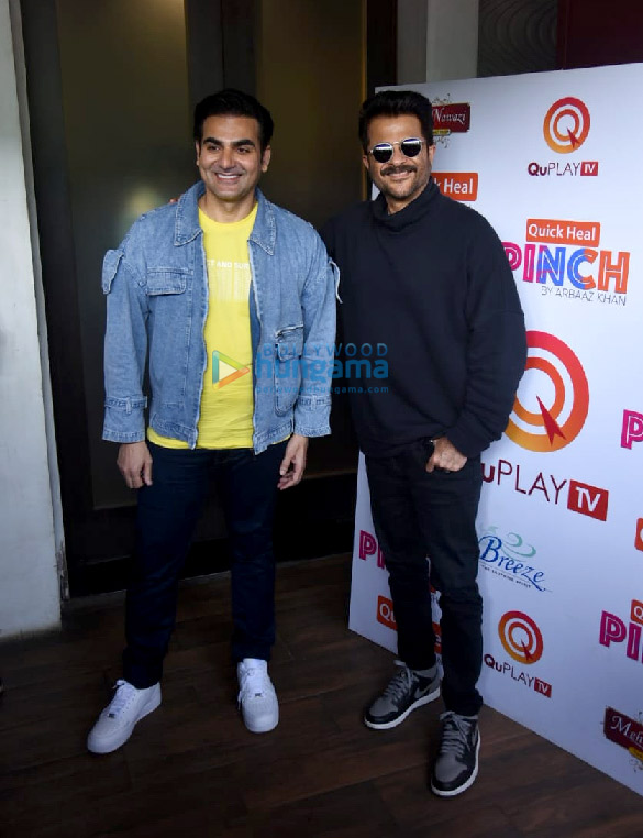 Photos Anil Kapoor snapped on sets of Arbaaz Khan's chat show (1)