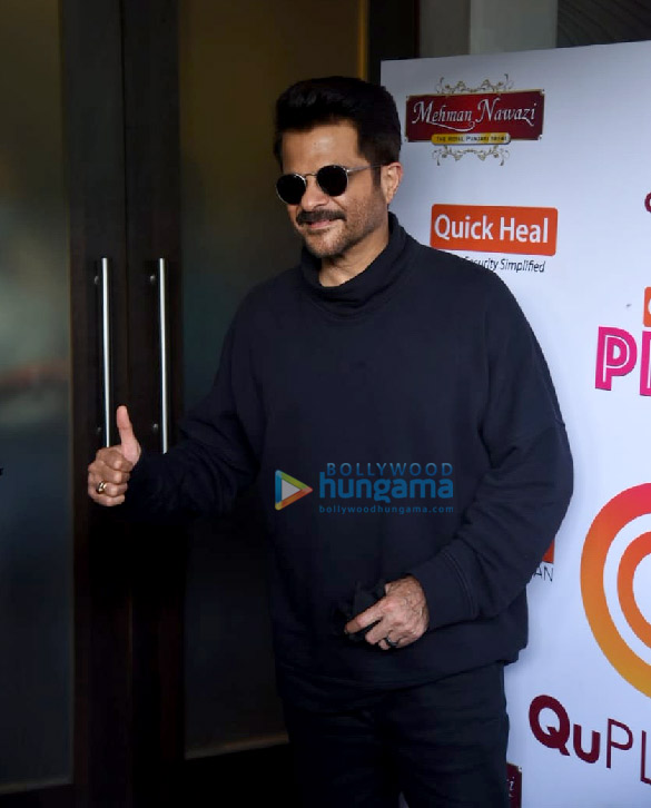 Photos Anil Kapoor snapped on sets of Arbaaz Khan's chat show (2)