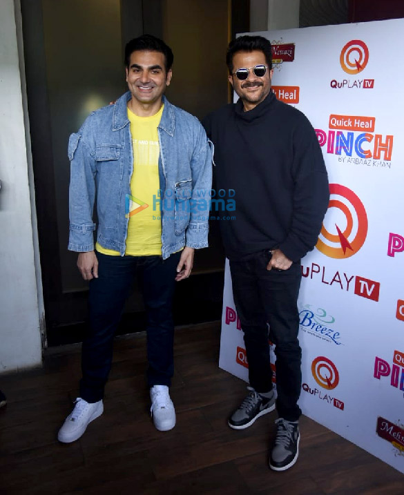 Photos Anil Kapoor snapped on sets of Arbaaz Khan's chat show (4)