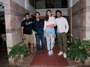 Photos: Hello Charlie stars Aadar Jain, Elnaaz Norouzi and others spotted at Excel Entertainment Office