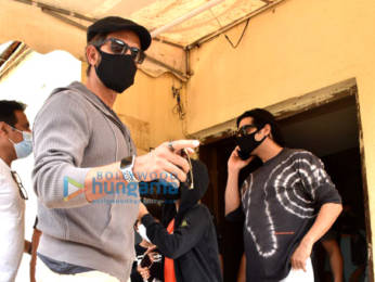 Photos: Hrithik Roshan snapped with his family and Zayed Khan at PVR Juhu
