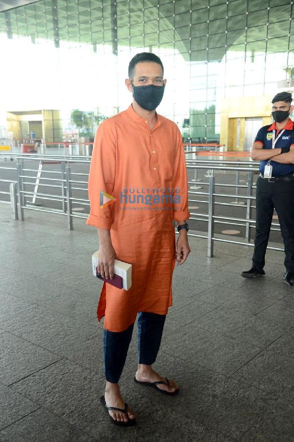 Photos: Huma Qureshi, Boman Irani and Vikrant Massey snapped at the airport