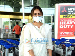 Photos: Huma Qureshi and Boman Irani snapped at the airport