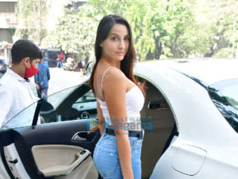 Photos: Nora Fatehi spotted at Muah salon in Bandra