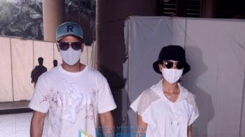 Photos: Rajkummar Rao, Patralekha, Sunny Deol and Sonu Nigam snapped at the airport