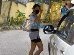 Photos: Sara Ali Khan snapped at pilates gym in Santacruz