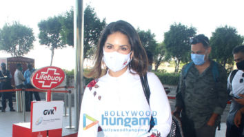 Photos: Sunny Leone, Nimrat Kaur and Rahul Bose snapped at the airport