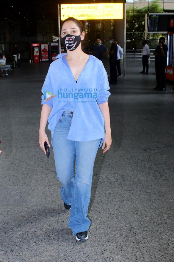 Photos: Tamannaah Bhatia, Sohail Khan, Jay Bhanushali and others snapped at the airport