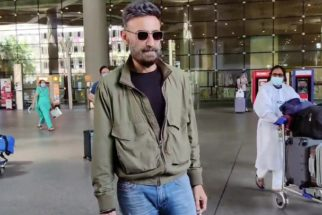 Pratik Gandhi and Rahul Dev spotted at Airport