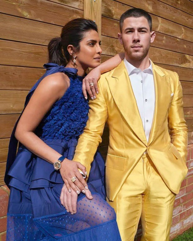 Priyanka Chopra speaks the language of glamour in Greta Constantine's blue midi dress for Oscars 2021 nominations 4