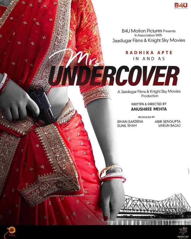 Radhika Apte acts in detective entertainer Mrs Undercover
