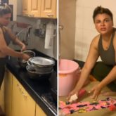 Rakhi Sawant takes Salman Khan's advice, posts a video of herself cleaning the house