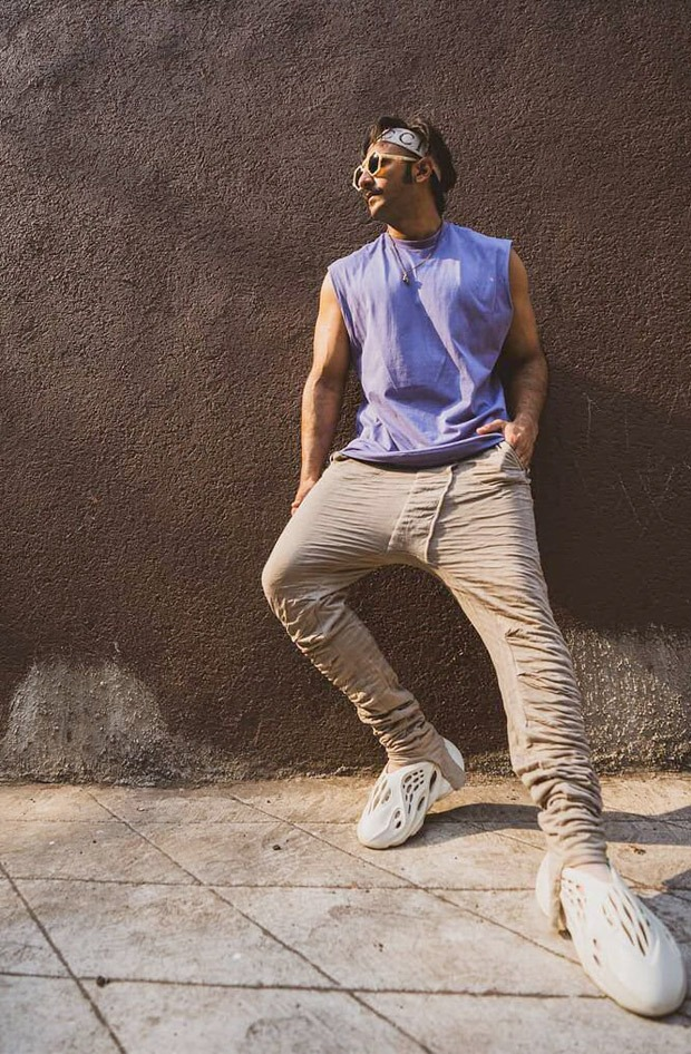 Ranveer Singh sports Kanye West's upcoming Yeezy Foam Runner collection in these stylish pictures