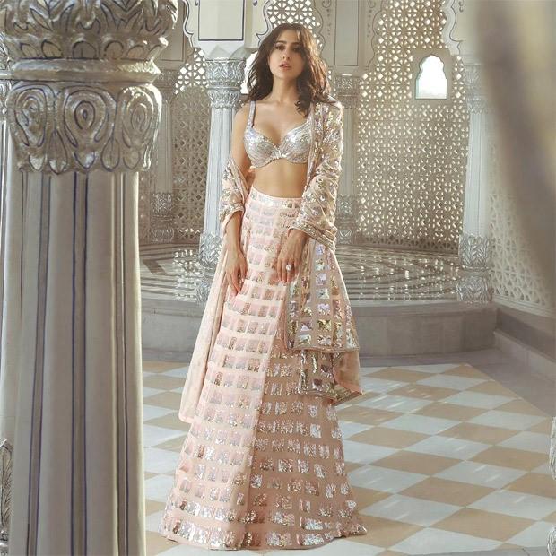Sara Ali Khan is seamless blend of grace in Manish Malhotra's Nooraniyat roseate lehenga
