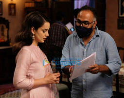 On The Sets Of The Movie Tejas