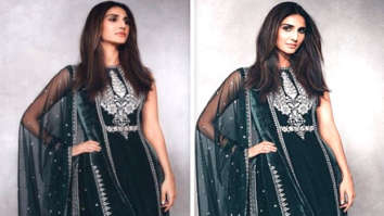 Vaani Kapoor looks elegant in olive green Anita Dongre creation worth Rs. 1.5 lakhs