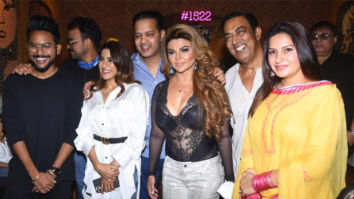 Rakhi Sawant hosts a Bigg Boss 14 party; Nikki Tamboli, Jaan Kumar Sanu, Rahul Mahajan attend