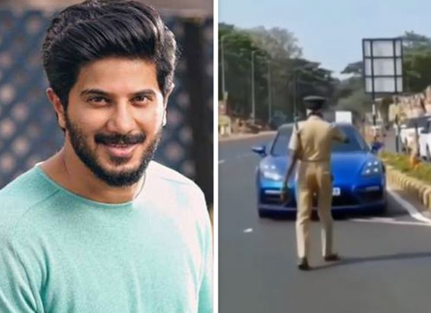 Dulquer Salmaan stopped by cops for driving his Porsche on the wrong side of the road; fan who recorded video reveals what happened