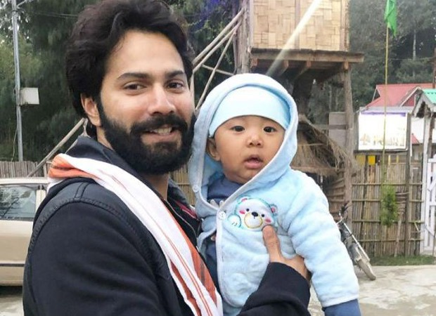 Varun Dhawan shares video of him playing with a baby in Arunachal Pradesh; introduces baby to his Instagram family