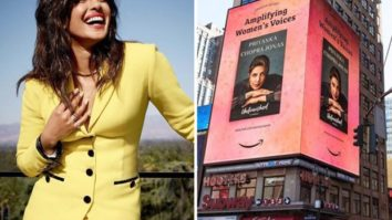 Priyanka Chopra's book gets featured on a billboard in NYC as part of Women's History Month celebration