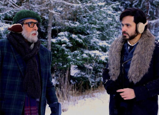 """""""More than a co-actor, he has been a tutor and a friend to me""""- Emraan Hashmi on working with Amitabh Bachchan in Chehre"""