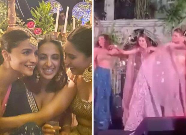 VIDEO: Alia Bhatt dances to Genda Phool at her best friend's wedding