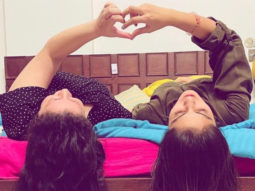 Rhea Chakraborty shares a picture with Saand Ki Aankh producer; talks about the power of love