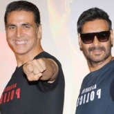 Akshay Kumar shares a then and now picture to wish Ajay Devgn on his birthday