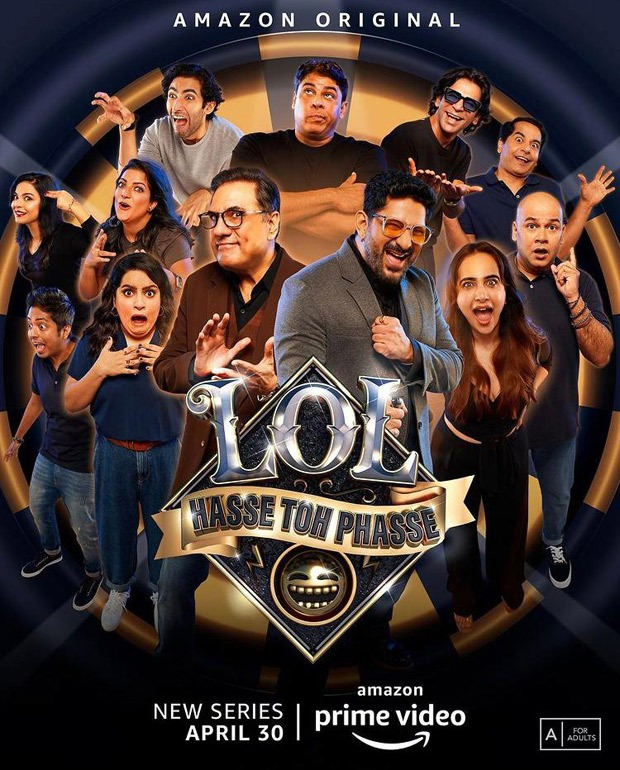 Arshad Warsi, Boman Irani to host LOL Hasse Toh Phasse on Amazon Prime Video; Sunil Grover, Cyrus Broacha, Gaurav Gera to compete