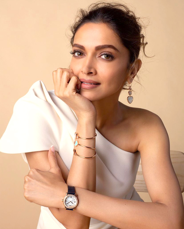 Deepika Padukone is a vision in white one-shoulder dress; wears Chopard watch worth Rs. 18 lakhs