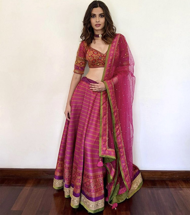 Diana Penty's ethereal in fuchsia lehenga worth Rs. 59,900 is just you want to have this wedding season