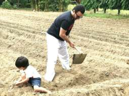 Earth Day 2021: Kareena Kapoor Khan shares pictures of her 'favourite boys' Saif Ali Khan and Taimur Ali Khan planting trees