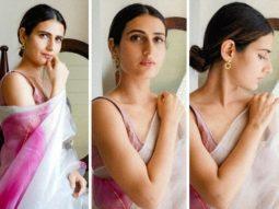 Fatima Sana Shaikh opts for silk organza saree worth Rs. 18,500 for Netflix's Ajeeb Daastaans promotions
