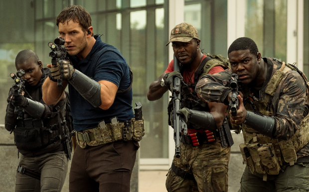 First look photos of Chris Pratt starrer The Tomorrow War is here and it looks explosive