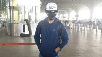Ishaan Khattar spotted at Airport